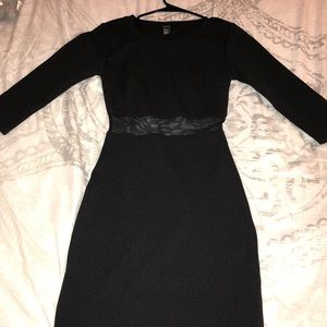 FOREVER 21 -  black dress - NEVER BEEN WORN